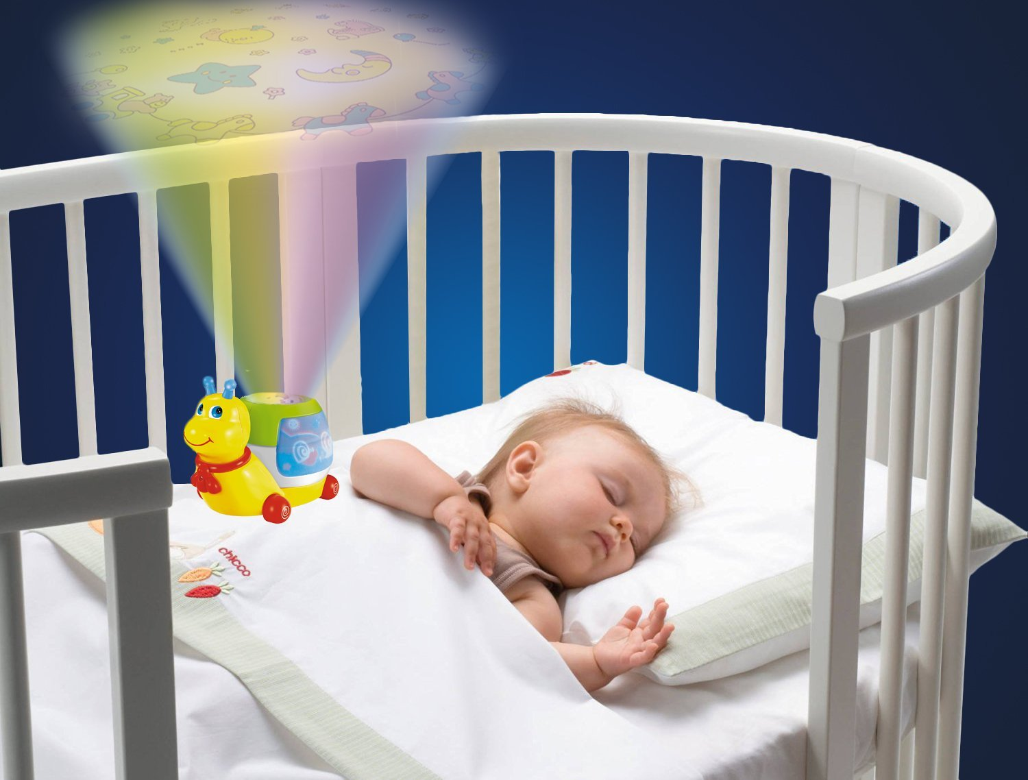 A Forest Baby Night Light Projector Lullaby Music Toddler Pull Along Toy Animal Crib