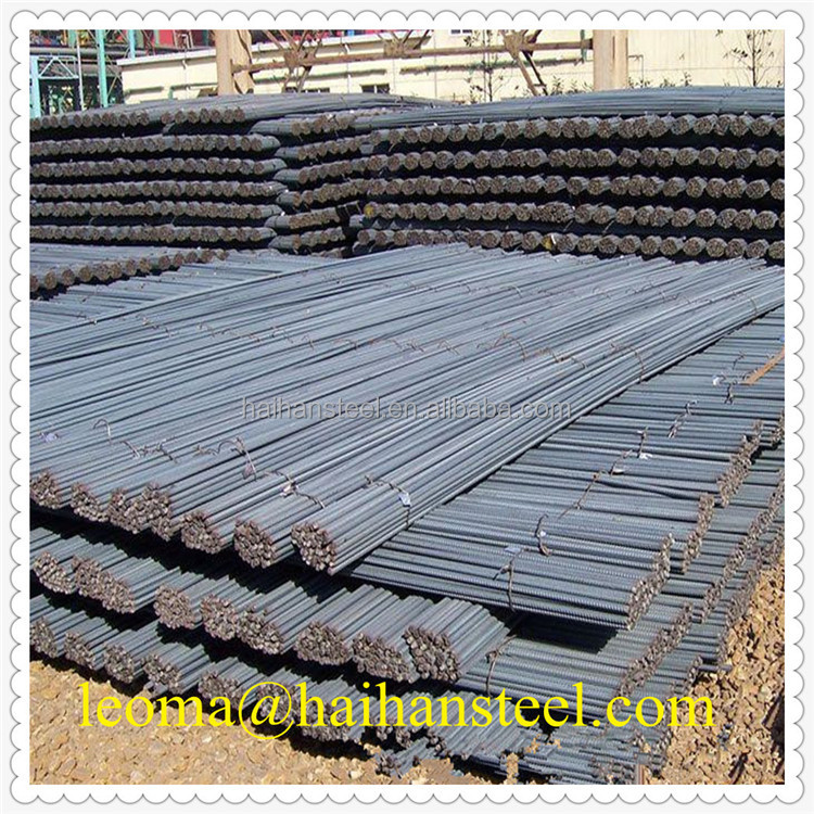 Carbon steel black reinforcing steel rebar,iron rod,deformed rebar for construction and concrete