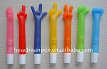 promotional LED light hand gestures ball pen