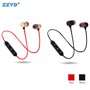 2018 ZZYD Wireless Earbuds Magnetic Blue tooth Headphones Custom Logo Sports Earphone In Ear Headset For iPhone X max