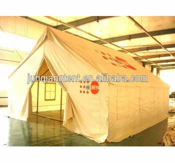 Un Double Roof Outdoor Canvas Tent Camping Equipment For Sale ... e0bd9dfdb