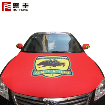 Custom 120X145Cm National National Car Hood Cover Flag