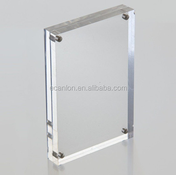 Frameless Clear Acrylic Poster Frame - Buy Acrylic Frameless Picture ...