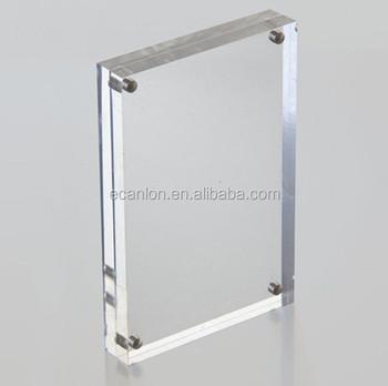 Frameless Clear Acrylic Poster Frame - Buy Acrylic Frameless Picture ...