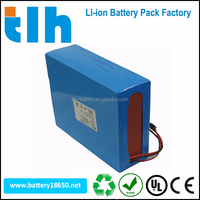 TLH Rechargeable 18650 lithium ion battery 36V 20Ah with lower price