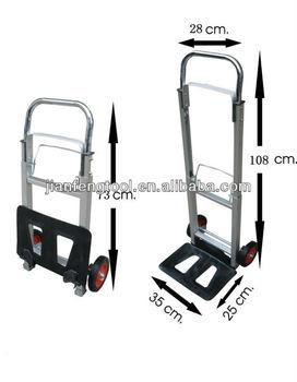 90kgs 2 Wheels Aluminum Hand Truck 2 Wheel Cart Buy Two