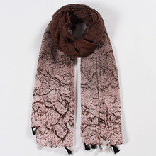 RM110 High Quality Muslim Voile Soft Long Scarf Women Printed Wrap Shawl Stole Scarves