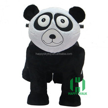 Hot styles battery operated animal ride in stuffed and plush animal for kids or adults