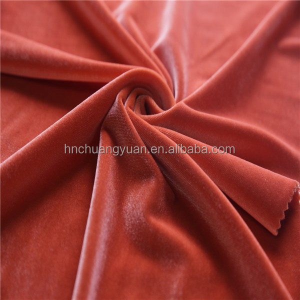 Hot sale korea velvet fabric in india