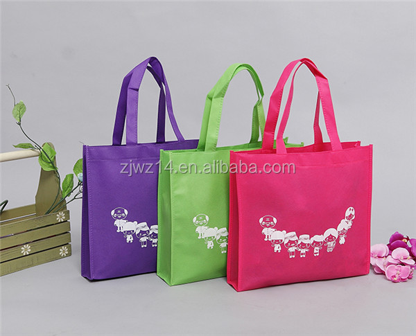 custom cheap shopping grocery recycle pp non woven bag