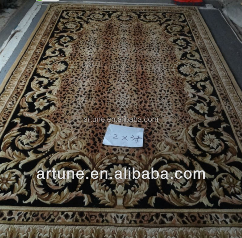 Pure wool +silk floor decoration area carpets and rugs