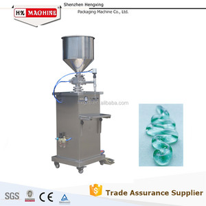 Manual Pneumatic Tube Filling Machine For Gel