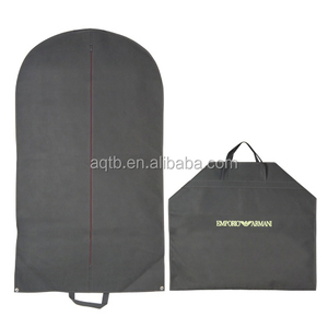 Factory price high quality non woven suit cover men folding non woven garment bag