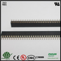 pitch 1.27mm double row 50 pin female header connector