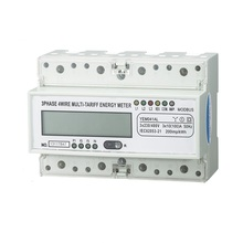 High Quality 3 Phase Din Rail RS485 Energy Meter / Kwh Electric Meter