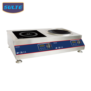 KPA1 Tabletop Multi Electric Induction Cooker 2 Double Burner 5000W