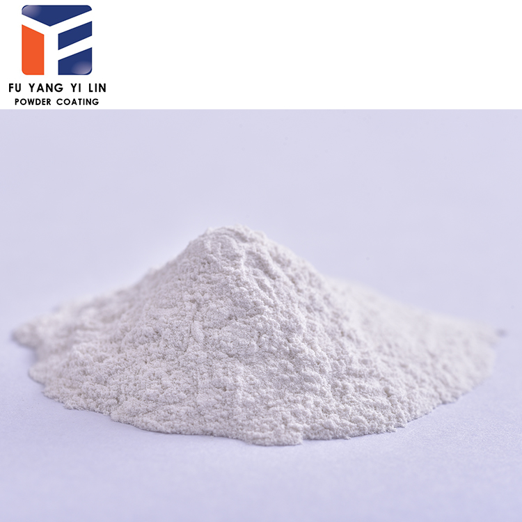 white color high glossy electrostatic powder coating