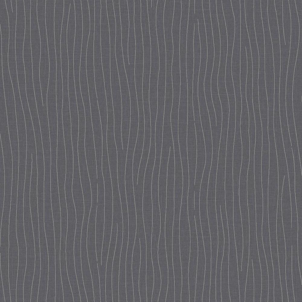 DF10507 Simple Lavable Moderno Gris A Rayas Decorativas