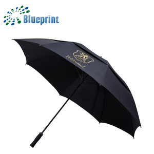 extra large oversize double canopy vented windproof big golf umbrella