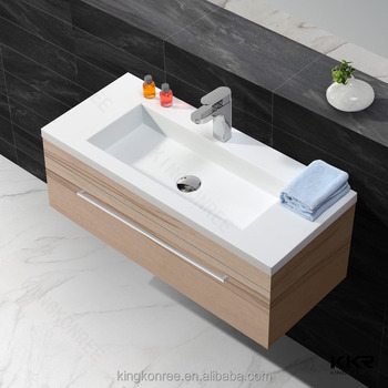 Wall mounted washbasin cabinet buy hand wash sink oval for Wash basin bathroom sink