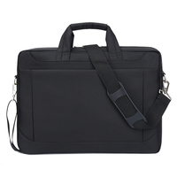 Women mens 15 inch nylon fabric single shoulder laptop book messenger bag in waterproof feature