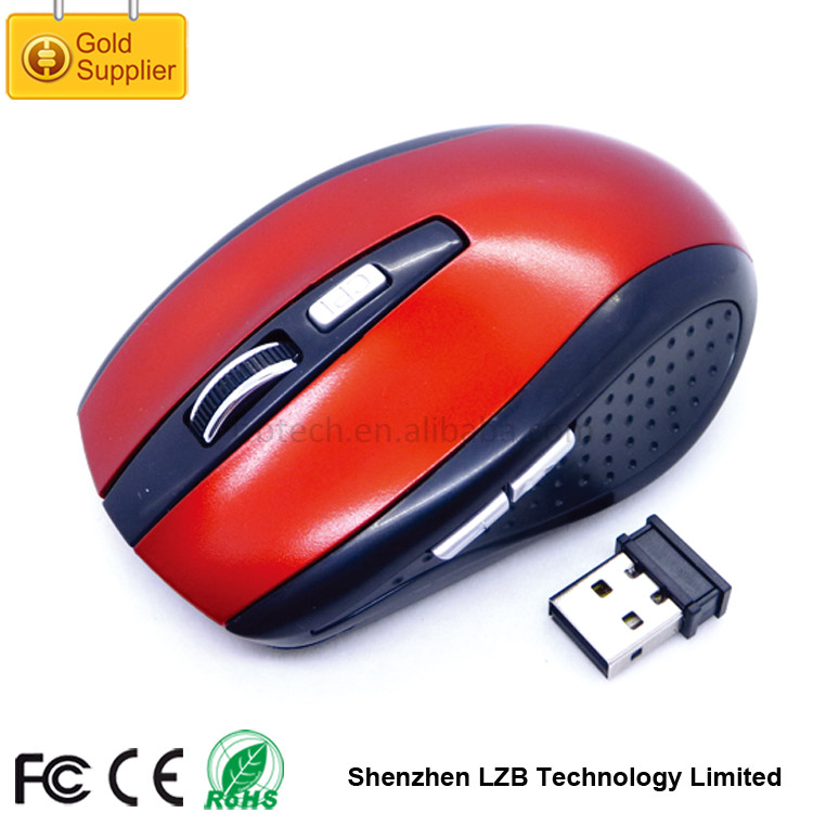WM-01 2.4G Wireless Optical Mouse Driver 5D High Resolution DPI USB Mouse Computer