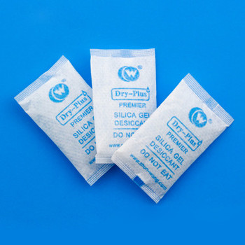 powdered nutritional supplement packaging silica gel desiccant sachet