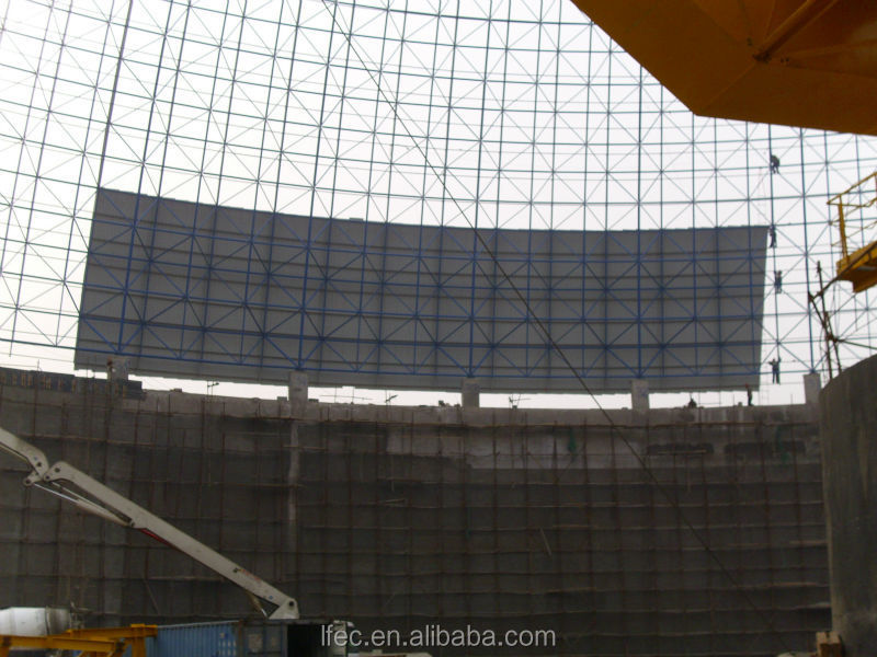 flexible customized design dome coal storage