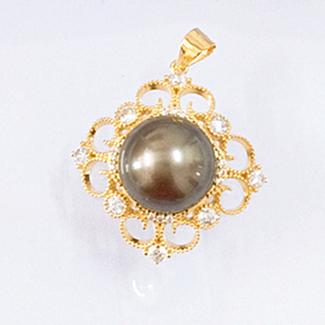 حلية صغيرة مطلية بالذهب المياه العذبة اللؤلؤ قلادة اللؤلؤ الحقيقي قلادة تصاميم الذهب الباروك اللؤلؤ قلادة