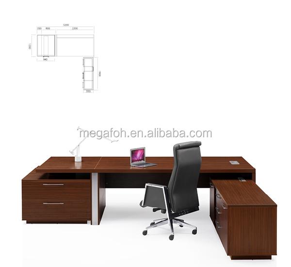 High end italian office furniture design wooden ceo office for Italian office furniture