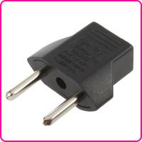10A EU Adapter Plug USA to Euro Europe Wall Power Charge Outlet Sockets US 2 Flat Pin to EU 2 Round Pin Plug Socket Adapter