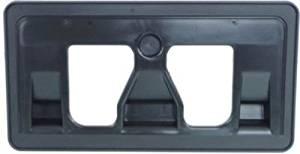 Crash Parts Plus Front Textured Black License Plate Bracket for 2009-2014 Honda Fit HO1068106