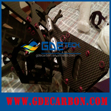 6K GDE custom carbon fiber cnc cutting carbon fiber auto parts /carbon fiber manufacturer