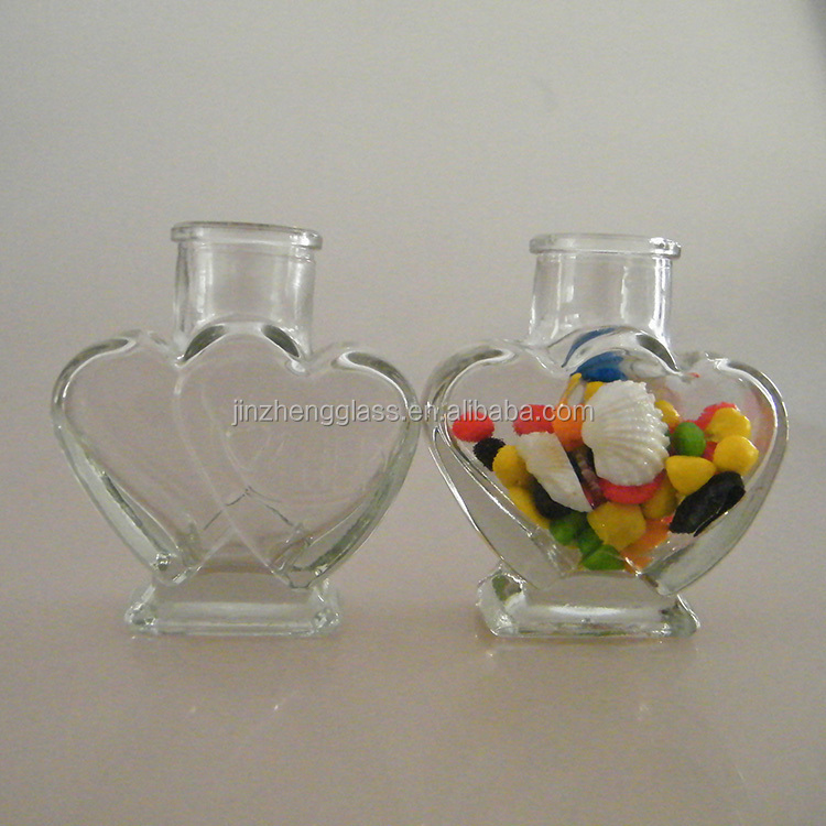 Cork Sealing Type Heart Shape Candy Glass Jar China Suppliers ...