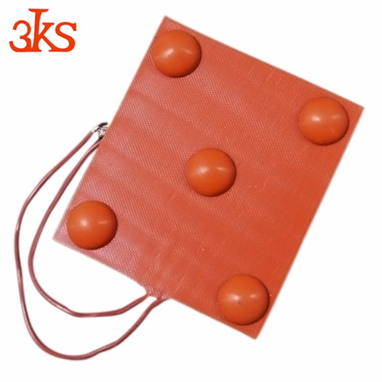 silicone rubber heater 12V-480V AC DC Flexible custom China supplier heating pad for clothes