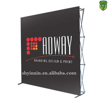 Pop Up Exhibition Stand : China pop up exhibition stand pvc fabric pop up banner display