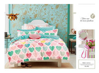 bed sheet 100% cotton 12868 made in china factory