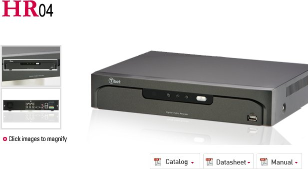 Hr04 Dvr Digital Video Recorder