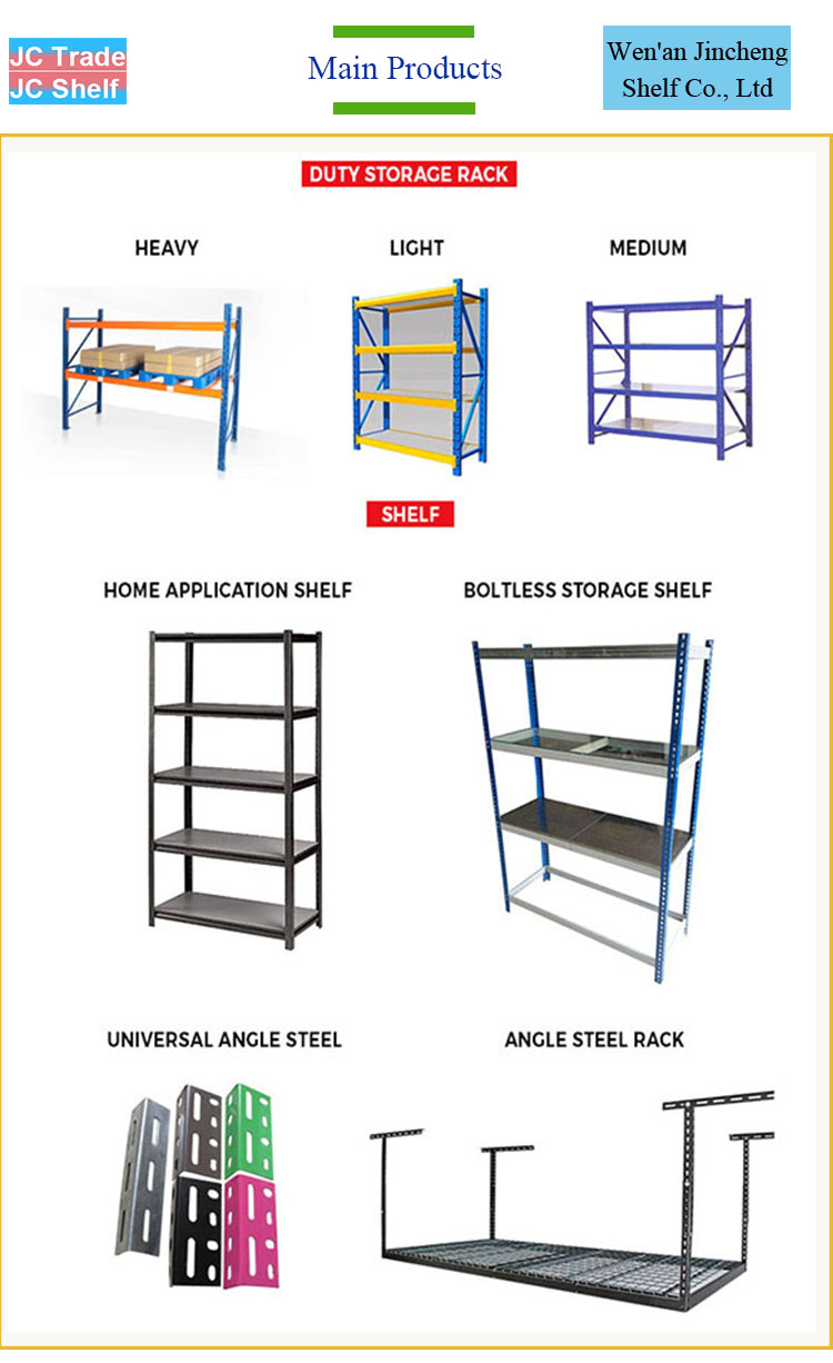 Industrial Wholesale Stacking Light-Duty Storage Shelf Storage Racks
