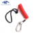 Factory sale coil spring lanyard rope with swivel ring carabiner and belt