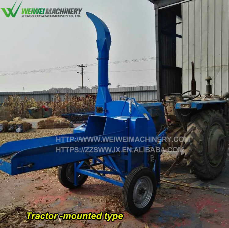 High quality machine grade grass cutting cow feed cutter price with belt convey pakistan