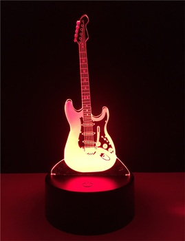 2017 new led lamps creative 3d guitar shapt usb table acrylic lamp 2017 new led lamps creative 3d guitar shapt usb table acrylic lamp aloadofball Images