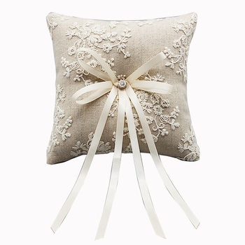 New wedding ring pillow R0484-3