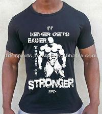 Hot! Slim Fit Bodybuilding Sport T Shirts For Man Manufacturer/gym ...