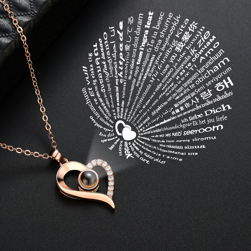 Valentines Day Romantic Gifts Jewelry Necklaces Heart 100