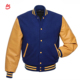 High quality custom wool body leather sleeves bomber letterman varsity jacket