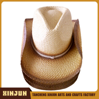 Handmade Natural Straw Hat Unisex Made in China