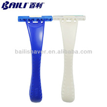 Pivoted Head High Quality Disposable Shaving Razor