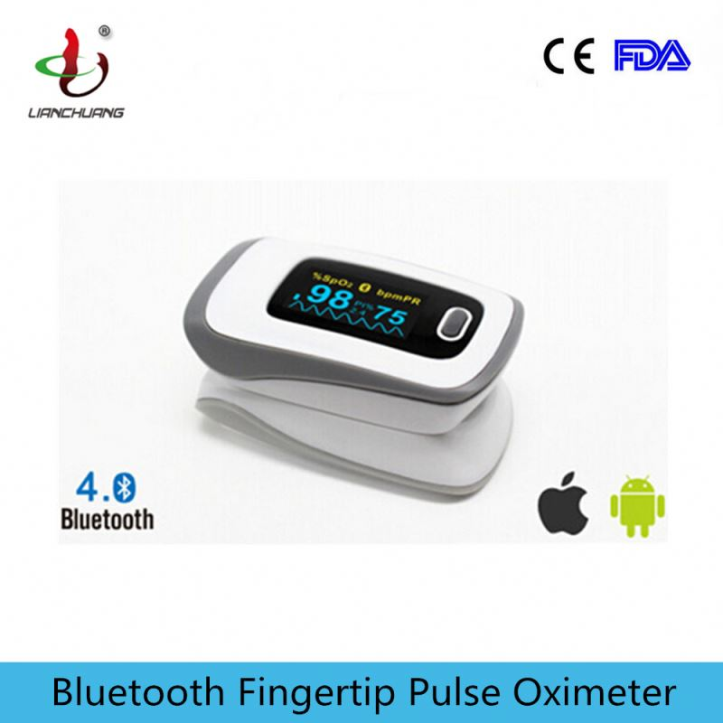 CE approved color OLED cheap fingertip nonin pulse oximeter Spo2 with bluetooth