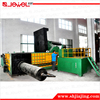 CE certified factory direct sale horizontal hydraulic final bale lateral push out scrap metal steel baling machine